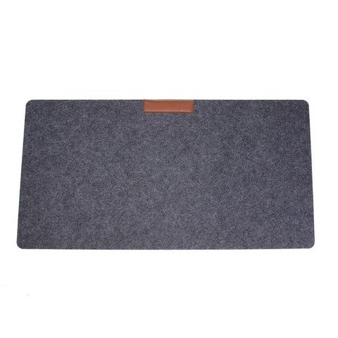 2mm/3mm Thickness Felt Computer Desk Mat Desktop Mouse Pad Large Size Keyboard Game Laptop Table Mat for Home Office 63 X 33cm - one46.com.au