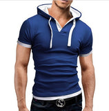 Fashion Summer Short Sleeve Solid Polo Shirt Men Cotton Print Slim Casual Polos Breathable Embroidery Shirt Mens Clothing 5xl - one46.com.au