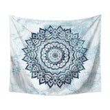 110*130cm Mandala Color Printed Wall Cloth Tapestry Polyester Hanging Wall Carpet Decorative Tablecloth Blanket Home Decor 60009 - one46.com.au