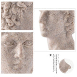 Simple David Head Portrait Hotel Decorative Statues Figurines Hot Selling Resin Craft Ornaments Gifts Home Decor accessories - one46.com.au