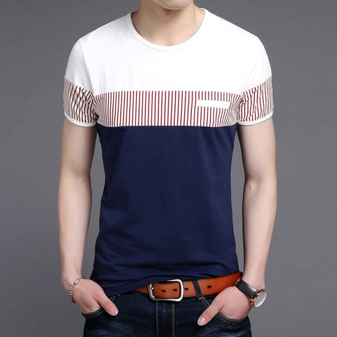 2019 New Fashion Brand T Shirts Mens O Neck Korean Summer Tops Street Style Trends Top Grade Short Sleeve Tshirts Men Clothing - one46.com.au