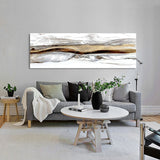 Modern Abstract Art Oil Painting Posters and Prints Wall Art Canvas Painting Chinese Abstract Mountains Pictures for Living Room - one46.com.au
