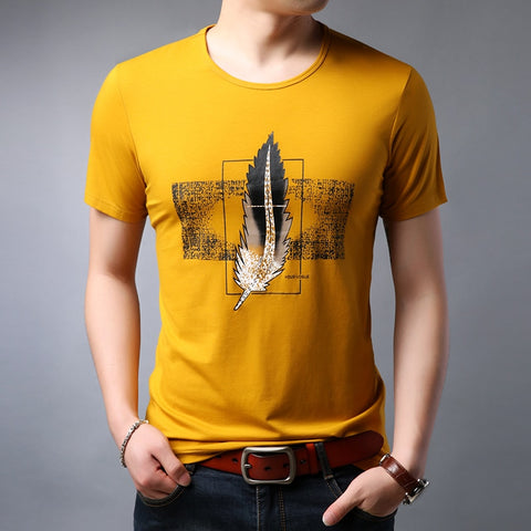 2019 New Fashion Brand T Shirt Mens Print Top Grade Summer Street Wear Tops Trends Pattern Short Sleeve Tshirts Men boys Clothes - one46.com.au