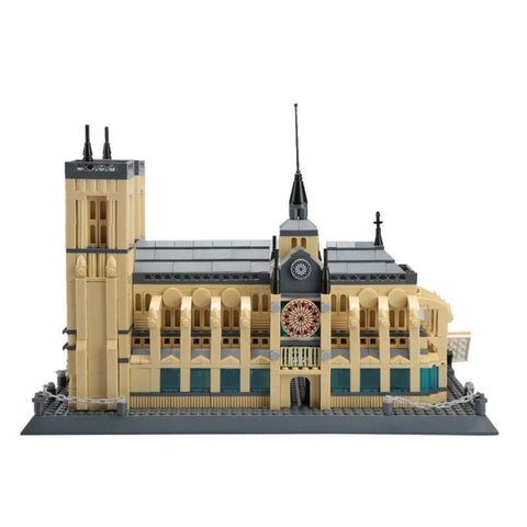 Architecture Notre Dame Cathedral Of Paris Building Blocks Classic Memory Model Bricks Toys For Home Decoration Accessories - one46.com.au