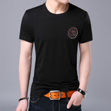 2019 New Fashion Brand T Shirt Men O Neck Summer Street Style Tops Trending Pattern Korean Short Sleeve T-Shirt Mens Clothing - one46.com.au
