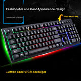 G20 USB Wired Mechanical Keyboard Suspended with led RGB Colorful Backlight Gaming Keyboard Waterproof For PC Computer Gamer - one46.com.au