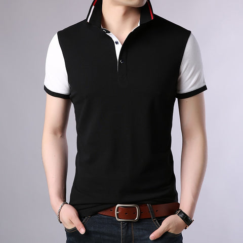 2019 New Fashion Brands Summer Polo Shirts Men Top Grade Cotton Short Sleeve Slim Fit Boyfriend Gift Polos Casual Men Clothes - one46.com.au