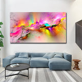 Printed Oil Painting Dropshipping Canvas Prints For Living Room Wall No Frame Modern Decorative Pictures Abstract Art Painting - one46.com.au