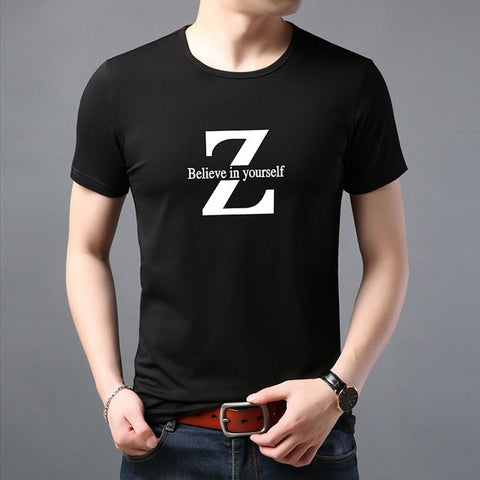 2019 New Fashion Brand T Shirt For Men Pattern Trends Street Wear Tops Trending Summer 100% Cotton Short Sleeve Tee Men Clothes - one46.com.au