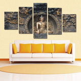 11053 Black Gold Exquisite Body Buddha Statue Frameles Painting Decoration Art Canvas Modern Home Decoration Painting - one46.com.au