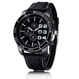 Men's Watches Sport Outdoor Dress Solar Watch Military Silicone Quartz Clock Hours Hot Orologio Uomo - one46.com.au