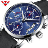 NIBOSI Mens Watches Top Brand Luxury Men's Military Sports Watch Casual Leather Waterproof Quartz Watch Gift Relogio Masculino - one46.com.au
