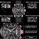 NIBOSI Watch Men Sports Quartz Business Casual Military Clock Mens Watches Top Brand Luxury Waterproof Watch Relogio Masculino - one46.com.au