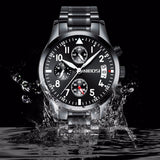NIBOSI Mens Watches Top Brand Luxury Waterproof Military Sport Quartz Watch Men Wrist Watch Relogio Masculino Horloges Mannen - one46.com.au