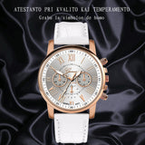 GENEVA Leather Quartz Watch Women Ladies Fashion Bracelet Wrist Watch Wristwatches Clock relogio feminino masculino reloj mujer - one46.com.au