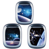3D Starry Sky Planet Spaceship PVC Waterproof Self-Adhesive Wall Stickers DIY Removable Decals Living Room Bedroom Decor - one46.com.au