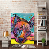 10807 Dean Ruo Dog K Frameless Decorative Painting Painting Wall Decoration Art Canvas Modern Home Decoration Painting - one46.com.au