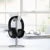 Universal Headphone Stand Holder Aluminum headset earphone stand Desk Display Hanger Hook Bracket for Wireless Headphones - one46.com.au