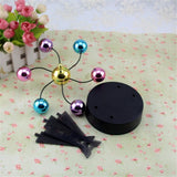 Color Ferris Wheel Electromagnetic Pendulum Permanent Instrument Model Desktop Decoration Couple Gift - one46.com.au