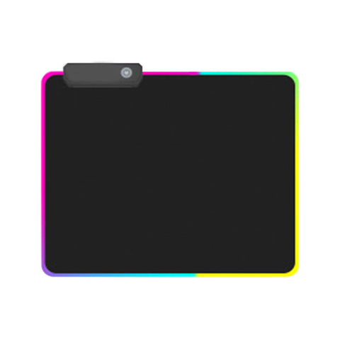 HOT-Gaming Mouse Pad Rgb Oversized Glowing Led Extended Illuminated Keyboard Thicken Colorful For Pc Computer Laptop