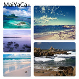 MaiYaCa 2018 New Seaside Scenery Comfort Mouse Mat Gaming Mousepad Size for 180*220 200*250 250*290 Design Mouse Pad - one46.com.au