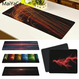 MaiYaCa  Sun Red Light Rays Striking Anti-Slip Durable Silicone Computermats Size for 30x60cm and 30x90cm Gaming Mousepads - one46.com.au