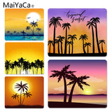 MaiYaCa  Sunset DIY Design Pattern Game mousepad Size for 25x29x0.2cm Gaming Mousepads - one46.com.au
