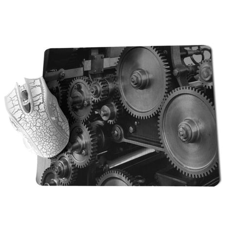 MaiYaCa 2018 New Mechanical gear Unique Desktop Pad Game Mousepad Size for 18x22cm 25x29cm Small Mousepad - one46.com.au