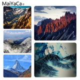 MaiYaCa Sunset Shining Hills Customized MousePads Computer Laptop Anime Mouse Mat Size for 18x22x0.2cm Gaming Mousepads - one46.com.au