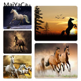 MaiYaCa Funny Dashing Horse Comfort Mouse Mat Gaming Mousepad Size for 180*220 200*250 250*290 Design Mouse Pad - one46.com.au