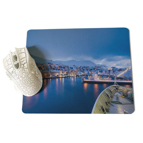 MaiYaCa Personalized Cool Fashion Nordic Town Laptop Gaming Mice Mousepad Size for 18x22cm 25x29cm Small Mousepad - one46.com.au