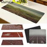 MaiYaCa Track Beautiful Anime Mouse Mat Size for 30x80cm and 30x90cm Gaming Mousepads - one46.com.au