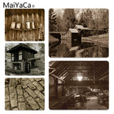 MaiYaCa  Sepia Mill Customized MousePads Computer Laptop Anime Mouse Mat Size for 18x22x0.2cm Gaming Mousepads - one46.com.au