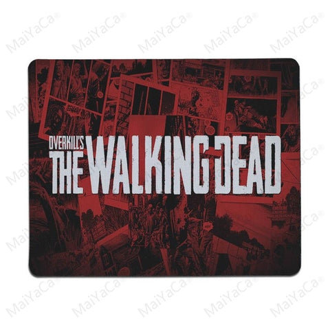 MaiYaCa  The Walking Dead Old Anti-Slip Durable Silicone Computermats Size for 30x60cm and 30x90cm Gaming Mousepads - one46.com.au