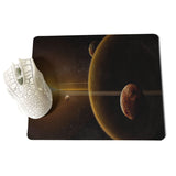 MaiYaCa Funny Glossy Space Planet Stars Solar System Large Mouse pad PC Computer mat Size for 18x22cm 25x29cm Small Mousepad - one46.com.au