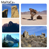 MaiYaCa Your Own Mats Blue Sky Rocks and Bottoming Laptop Computer Mousepad Size for 180x220x2mm and 250x290x2mm Rubber Mousemat - one46.com.au