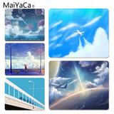 MaiYaCa New Design Break through the clouds Customized MousePads Computer Laptop Anime Mouse Mat Size for 180x220x2mm Mousemats - one46.com.au