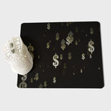 MaiYaCa New Printed Money sign Office Mice Gamer Soft Mouse Pad Size for 18x22cm 25x29cm Small Mousepad - one46.com.au