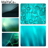 MaiYaCa Hot Sales Aqua Green Laptop Gaming Mice Mousepad Size for 180x220x2mm and 250x290x2mm Rubber Mousemats - one46.com.au