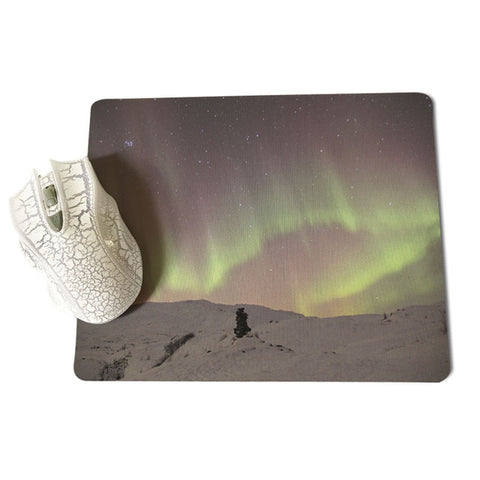 MaiYaCa  Mysterious Northern Lights Large Mouse pad PC Computer mat Size for 18x22x0.2cm Gaming Mousepads - one46.com.au