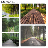 MaiYaCa  Tree Lined Trail Laptop Gaming Mice Mousepad Size for 18x22x0.2cm Gaming Mousepads - one46.com.au