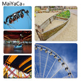MaiYaCa  Playground silhouette Large Mouse pad PC Computer mat Size for 18x22x0.2cm Gaming Mousepads - one46.com.au