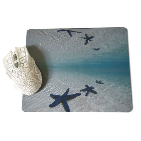 MaiYaCa Deep sea starfish Large Mouse pad PC Computer mat Size for 18x22x0.2cm Gaming Mousepads - one46.com.au