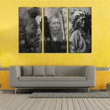 12444 Indian Four Men Photo Frameles Oil Painting Canvas Painting Decoration Art Canvas Modern Home Decoration Painting - one46.com.au