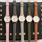 New 2018 Womens Watches Fashion Casual Womens Simple Style Quartz Leather Strap Wristwatch Ulzzang Women Watch - one46.com.au