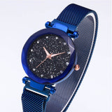 Luxury Women Watches Ladies Magnetic Gypsophila dial Women Watch quartz watches Waterproof steel belt Wristband girl gift clock - one46.com.au