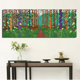 David Hockney Tree and Flower Large Canvas Painting Huge Poster Wall Art Giclee print For Living Room,Bedroom Landscape Pictures - one46.com.au