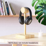 DACOM Wooden Material Headset Headphone Stand Holder for Wired and Wireless Headphones Earphones - one46.com.au