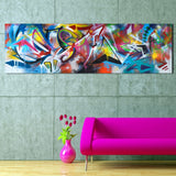 QKART Wall Art Oil Paintings Abstract Picture Dropshipping Canvas Print For Living Room Modern No Frame - one46.com.au