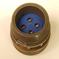 Amphenol Ind. 97-3106A-20, Insert No. 20-4, 4 Contacts, 4-12 ga.